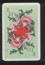 Advertising collectible  playing cards P.& O. shipping line